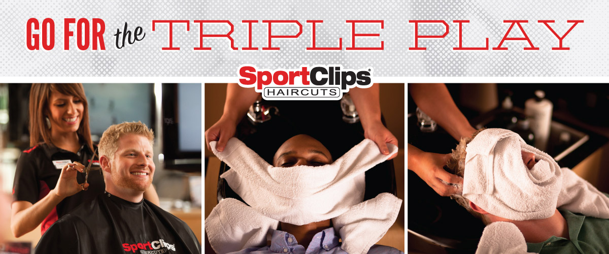 The Sport Clips Haircuts of Lewis Center  Triple Play